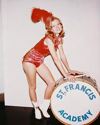 Pin Up Photograph - Hayley Mills In The Trouble With Angels by Silver Screen