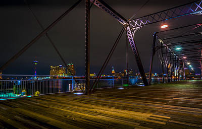 Photograph - Hays Street Bridge by David Morefield
