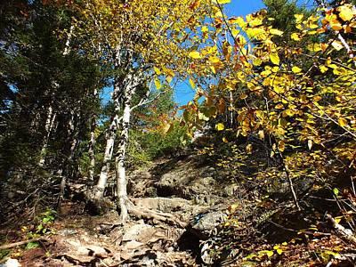 Photograph - Haystack Climb by Gene Cyr