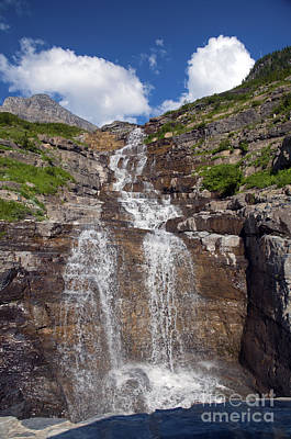 Photograph - Haystack Creek Falls Glacier by Cindy Murphy - NightVisions