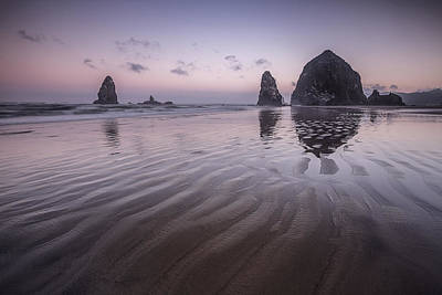 Photograph - Haystack Glow by Jon Glaser