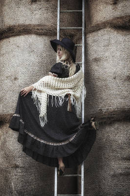 Shawl Photograph - Haystack by Joana Kruse