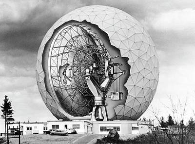 Haystack Microwave Research Facility Art Print by Emilio Segre Visual Archives/american Institute Of Physics