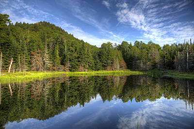 Photograph - Haystack Mountain And Pond by Gary Smith