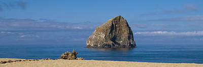 Photograph - Haystack Rock - Pacific City Oregon Coast by Brian Harig