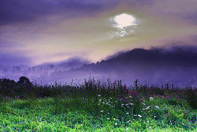 Photograph - Haywood County North Carolina Landscape by Gray  Artus