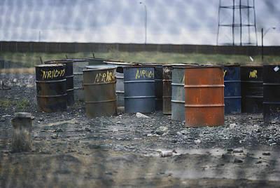 Toxic Waste Photograph - Hazardous Waste by Barbara Burnes
