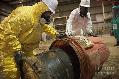Photograph - Hazardous Waste Cleanup by Jim West