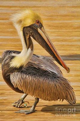 Hazards Of Bird Life Art Print by Deborah Benoit