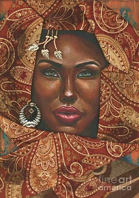 Painting - Hazel Eyes by Alga Washington
