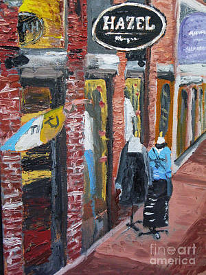 Painting - Hazel by Francois Lamothe
