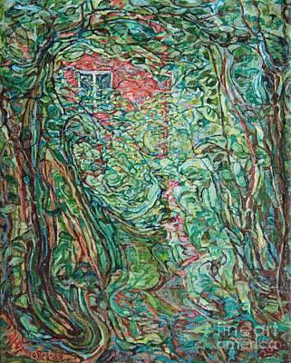 Painting - Hazelnut Trees by Anna Yurasovsky