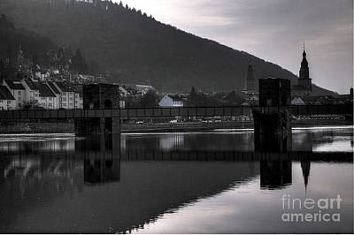 Photograph - Hazy Heidelberg by Morgan Wright
