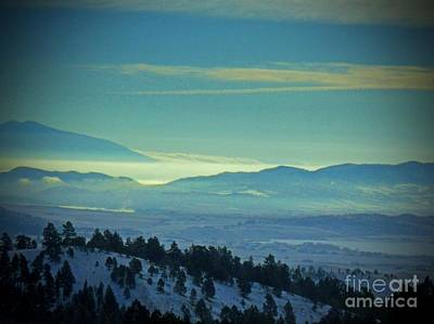 Photograph - Hazy Mountain Vista by Desiree Paquette