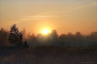 Photograph - Hazy Sunrise by Daniel Behm