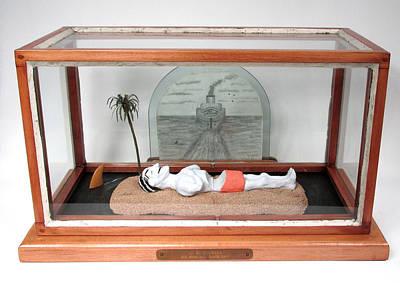 H.c. Westermann Run Over By A Death Ship Original
