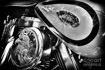 Harley Davidson Photograph - Hd Abstract  by Tim Gainey