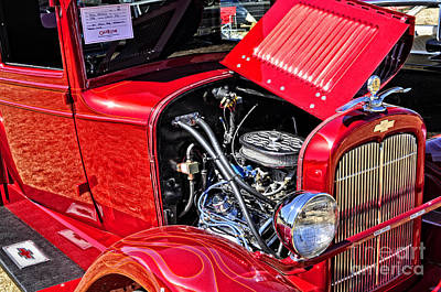 Photograph - Hdr 1928 Chevy Pick Up Truck by Tikvah's Hope