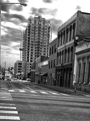 Photograph - Bw Street Photography Nashville Tn by Lesa Fine