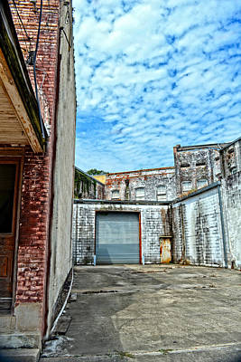Photograph - Hdr Alley by Maggy Marsh