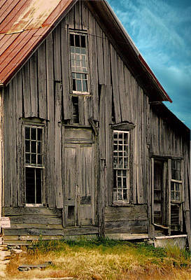 Photograph - Shack Of Elora Tn  by Lesa Fine