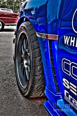 Subaru Rally Photograph - Hdr Subaru Wrx Sti by Jeremy Brown