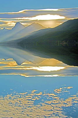 Photograph - Hdr Sunrise Lake Macdonald by Michael Gooch