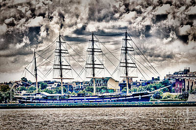 Hdr Tall Ship Boat Pirate Sail Sailing Photography Gallery Art Image Photo Buy Sell Sale Picture  Art Print