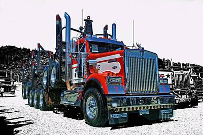 Western Art - Hdrcatr3120-13 by Randy Harris