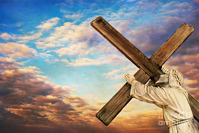 Christian Sacred Photograph - He Has Risen by Darren Fisher