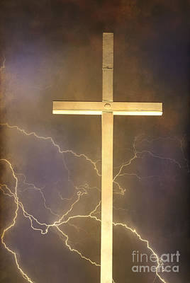 Lightning Bolt Photograph - He Has Risen by James BO  Insogna