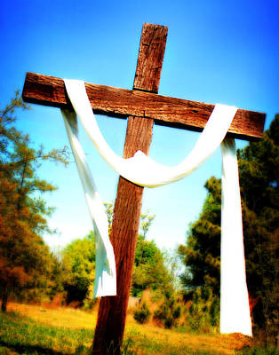 Photograph - He Has Risen by Val Stone Creager