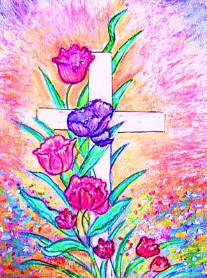 Painting - He Is Risen by Hazel Holland