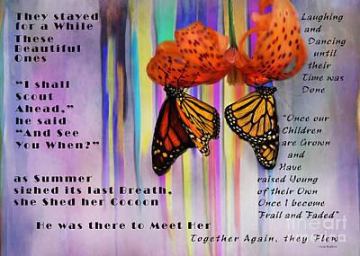 Rememberance Digital Art - He Met Her There by Lisa Redfern