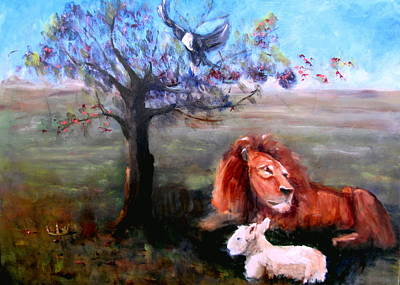 Painting - He Watches Over His Word by Sarah Barnaby