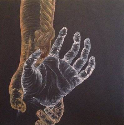 Giving Painting - He Won't Let You Fall by Alyssa Zuercher