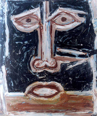 Painting - Head 4 by Anand Swaroop Manchiraju