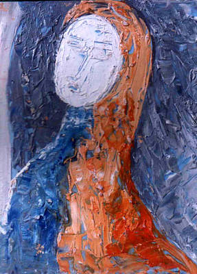 Painting - Head 7 by Anand Swaroop Manchiraju