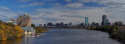 Sports Royalty-Free and Rights-Managed Images - Head of the Charles Regatta by Juergen Roth