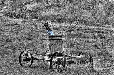 Wagon Photograph - Head Over Heals 2 by Hilton Barlow