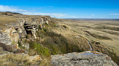Photograph - Head Smashed In Buffalo Jump by Robin Webster