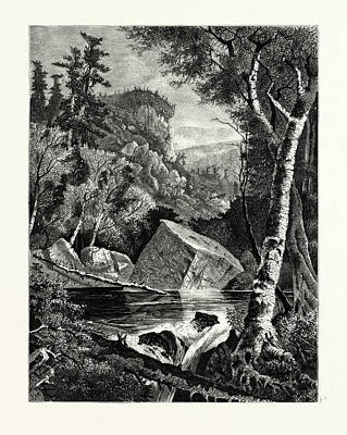 Indiana Rivers Drawing - Head-waters Of The Conemaugh. The Conemaugh River Is A Long by American School