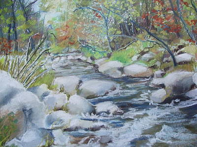 Head Waters On The James River Art Print