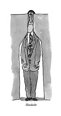 Emotion Drawing - Headache by William Steig
