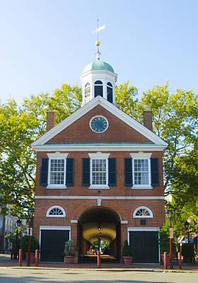 Headhouse Square - Philadelphia Art Print by Bill Cannon