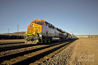 Dash 9 Photograph - Heading East Thro Barstow  by Rob Hawkins