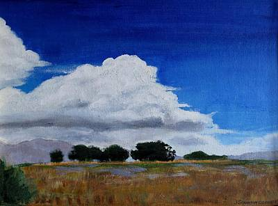 Quietude Painting - Heading For A Storm by Jan Brieger-Scranton