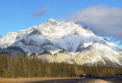 Photograph - Heading For Banff by George Cousins