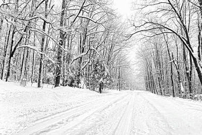 Photograph - Heading For Davis West Virginia After Snow Storm by Dan Friend