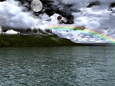 Digital Art - Heading For Dreamland by Michele Wilson
